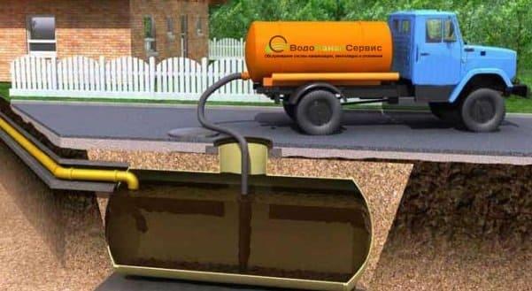 Нюансы откачки канализации на даче