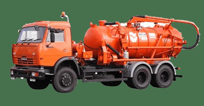 машина для прочистки канализации гидродинамическим способом