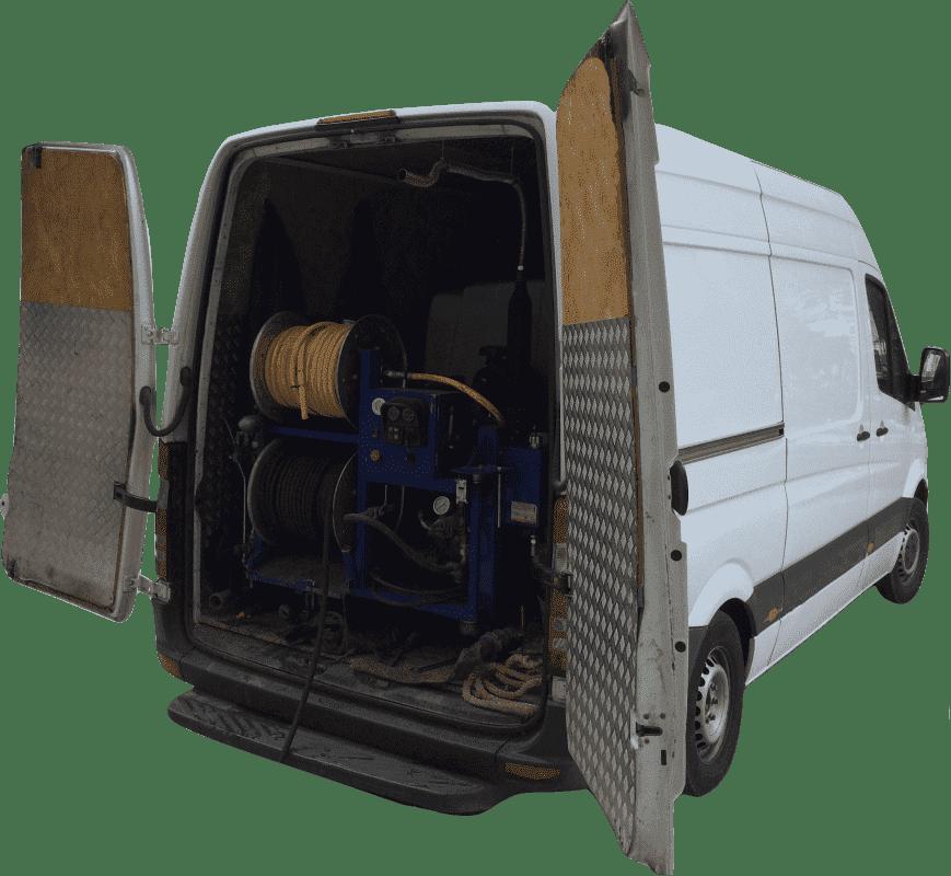 Каналопромывочная машина VHT 150/100